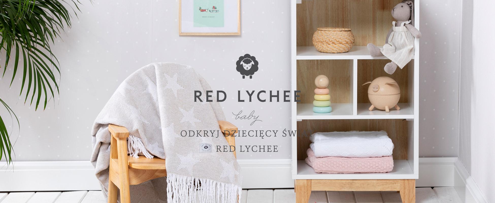 Kocyki Dziecięce Red Lychee Baby