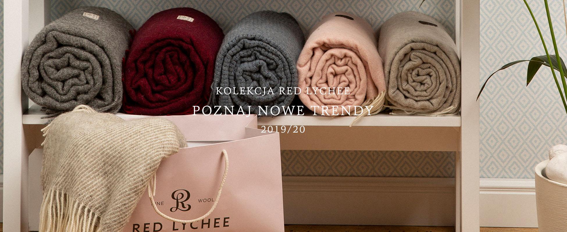 Koce, Pledy, Narzuty Red Lychee - www.red-lychee.pl