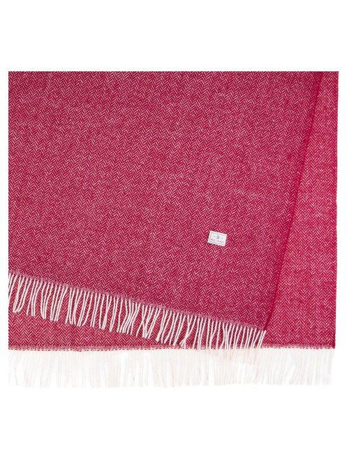 Koc Wełniany Red Lychee Simon